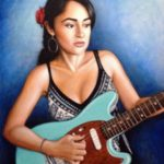 Girl with Electric Guitar – By Felipe Ramos